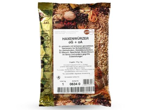 Grillgewürz Haxenwürzer Schweinebraten von Hagesüd, 1kg Packung