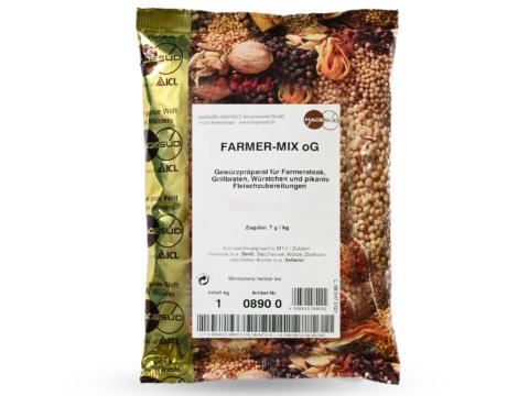 Grillgewürz Farmer Mix ohne Salz von Hagesüd, 1kg Packung