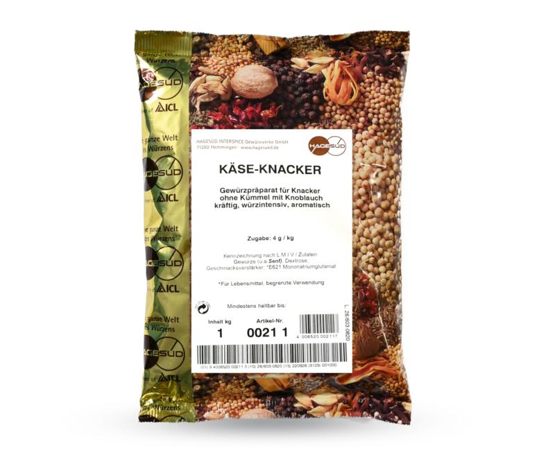 123_KäsGewürzmischung für Käseknacker von Hagesüd, 1kg Packung