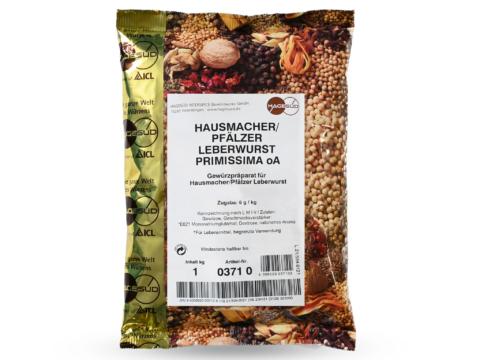 Gewürzmischung für Hausmacher Leberwurst von Hagesüd, 1kg Packung