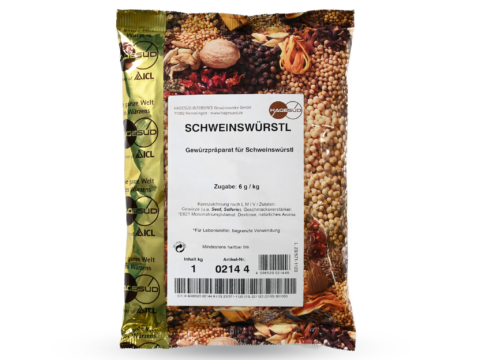 Schweinswürstl Gewürz von Hagesüd, 1kg Packung