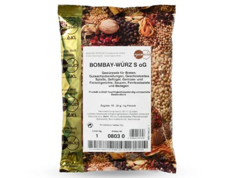 Grillgewürz Bombay Gewürzmischung von Hagesüd, 1kg Packung