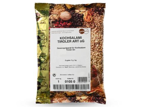 ewürzmischung für Tiroler Kochsalami von Hagesüd, 1kg Packung