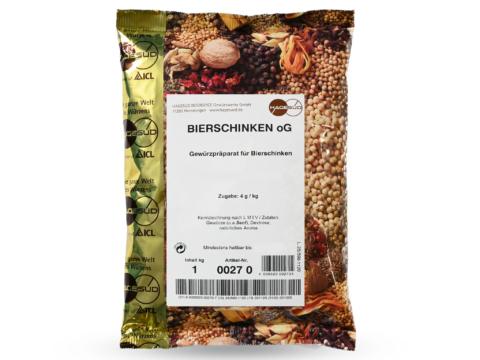 ewürzmischung für Bierschinken von Hagesüd, 1kg Packung