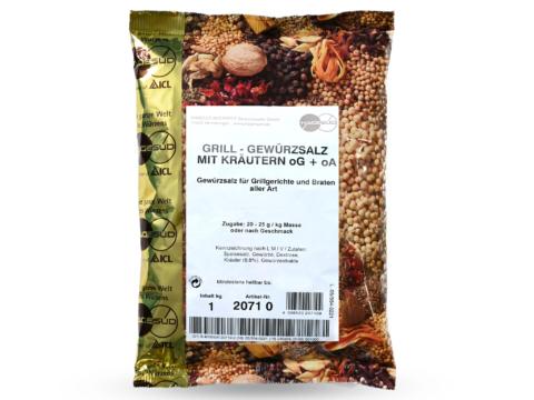 Grill- und Bratengewürzsalz mit Kräuter von Hagesüd, 1kg Packung