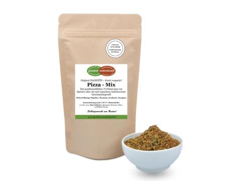 Pizza-Mix Gewürz, Gewürzmischung für Pasta von Hagesüd