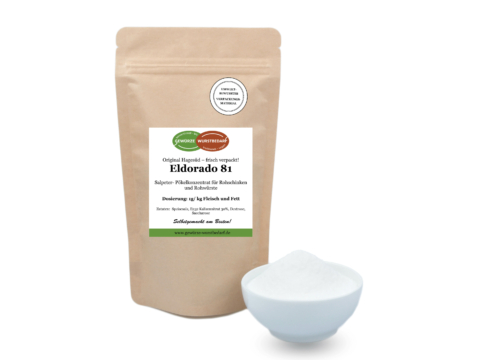 Salpeter Eldorado 81 für Rohschinken und Rohwurst