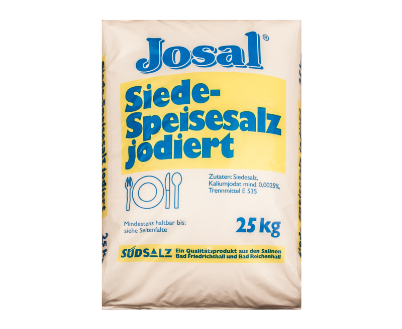 Siede-Speisesalz von Südsalz, 1kg