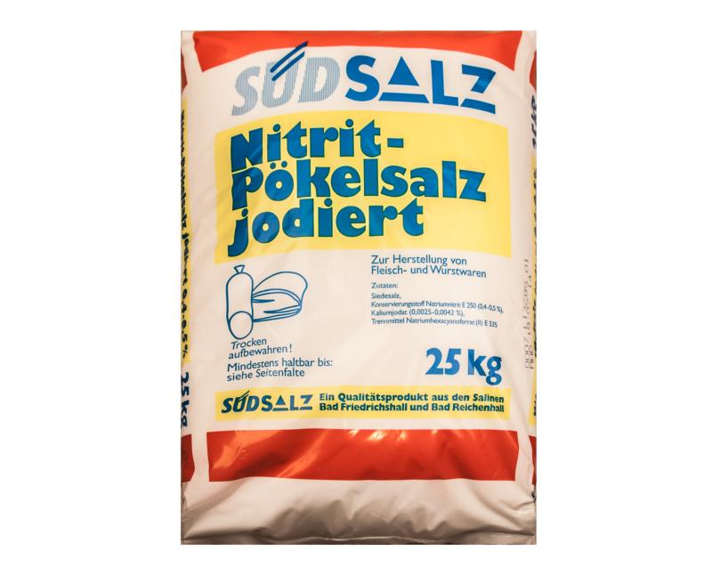 Südsalz, Nitrit-Pökelsalz, 0,4-0,5% Nitritgehalt, 1kg