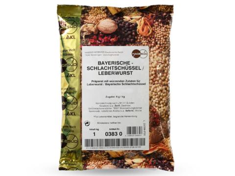 Gewürzmischung für Leberwurst Bay. Schlachtschüssel 1kg Packung